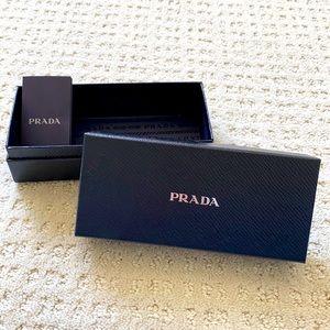 Prada Navy Blue Sunglasses Gift Box